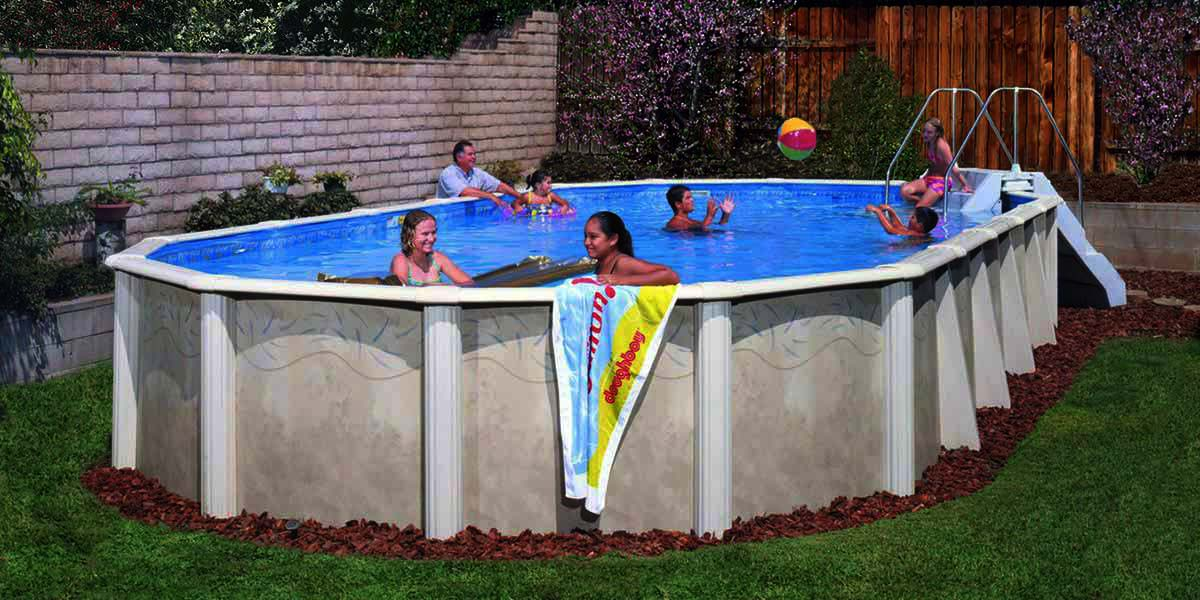 Desert spring pool - Above Ground Pools - Emerald Outdoor Living Salem