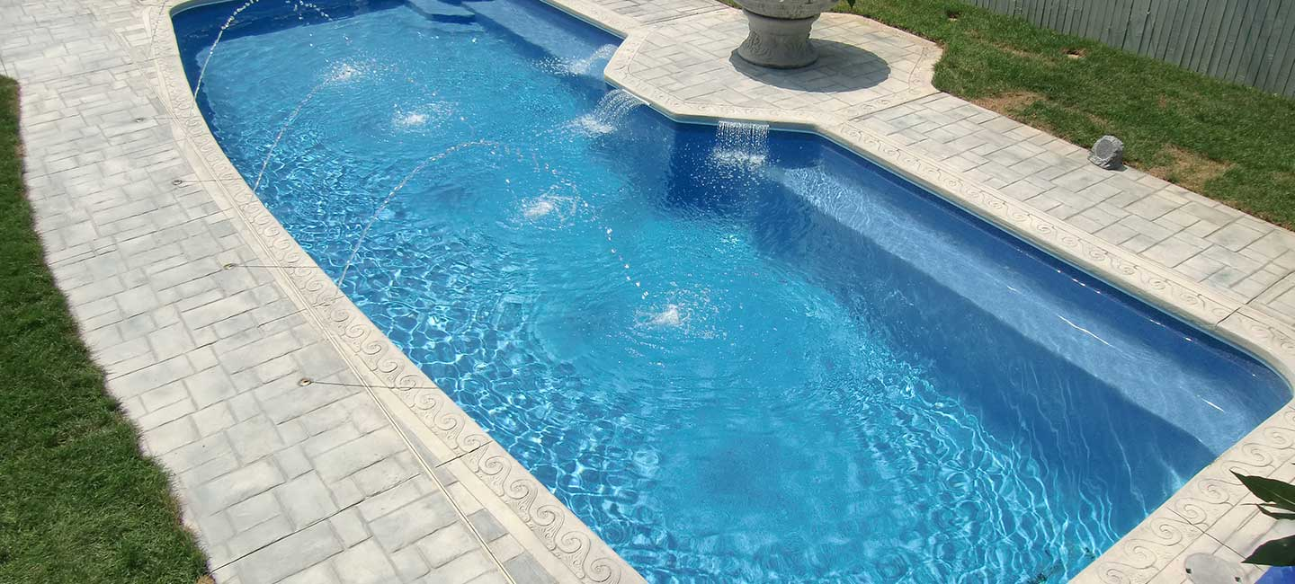 Check out our Doughboy in ground pools in Salem.