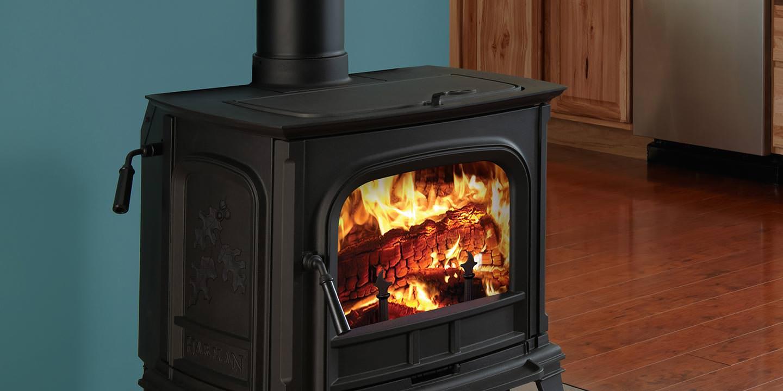 Emerald Outdoor Living - Harman wood stove