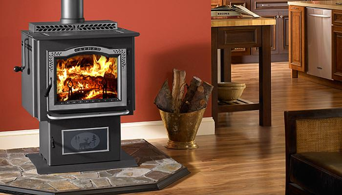 Emerald Outdoor Living - Harman wood stove