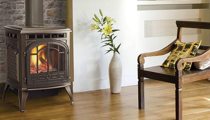 Emerald Outdoor Living - Quadrafire gas stove