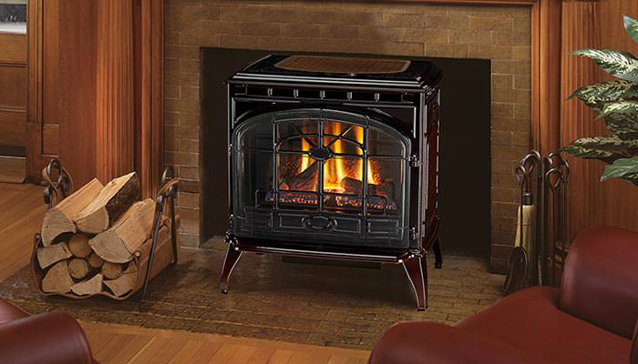 Emerald Outdoor Living - Quadrafire gas stove