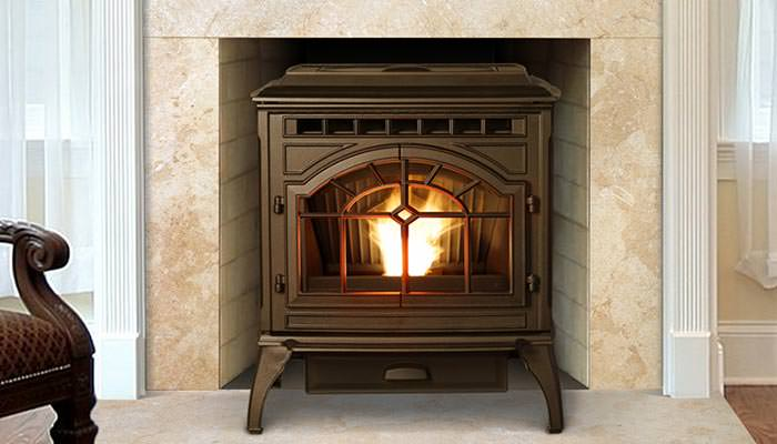 Emerald Outdoor Living - Quadrafire pellet stove