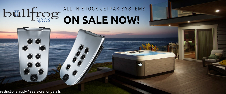 Portland Bullfrog Spas - Jetpak Systems