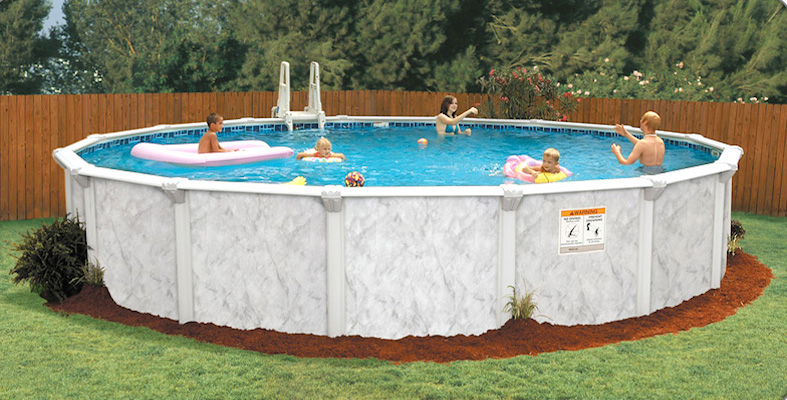 palm shore pool - Above Ground Pools - Emerald Outdoor Living Salem