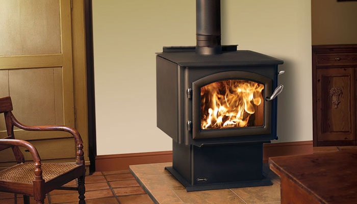 Emerald Outdoor Living - Quadrafire wood stove