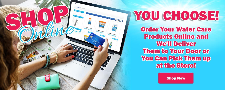 Save Time Shop Online
